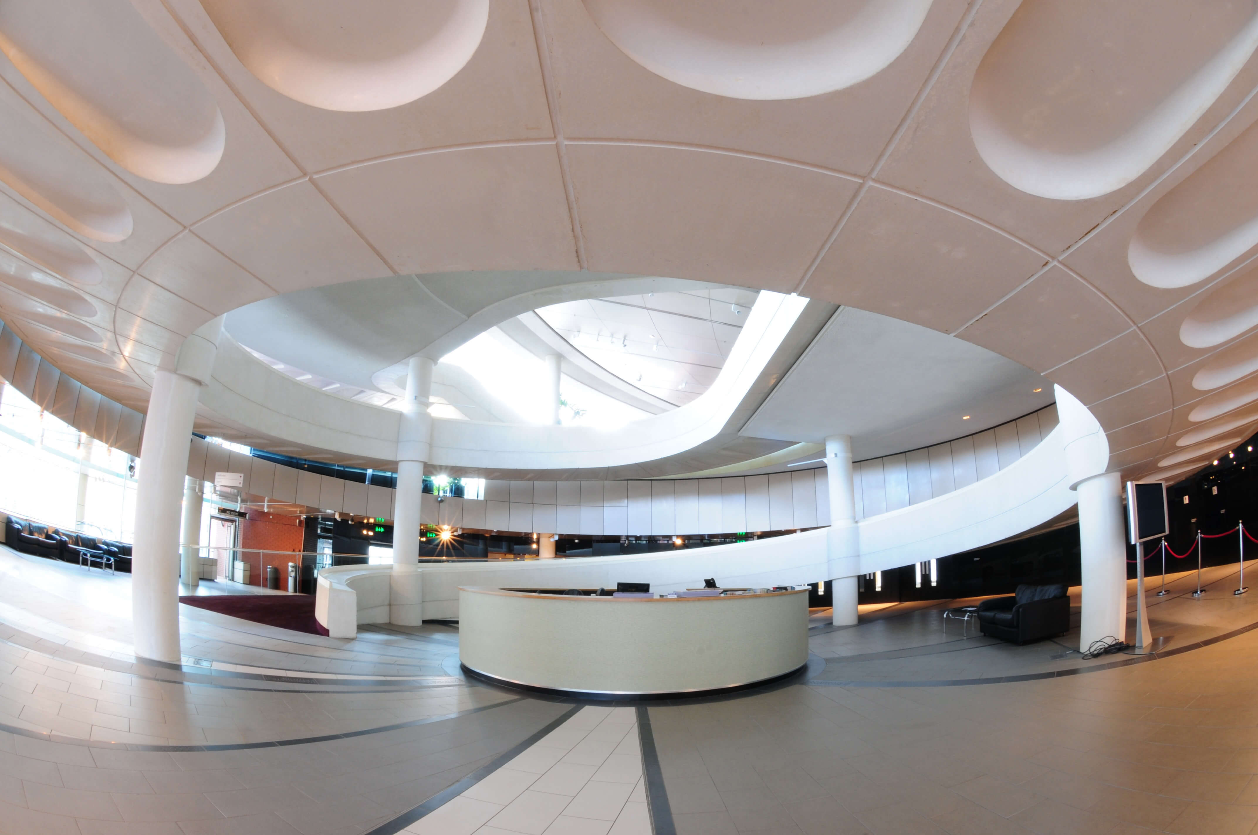 Entrance of Harrogate Convention Centre