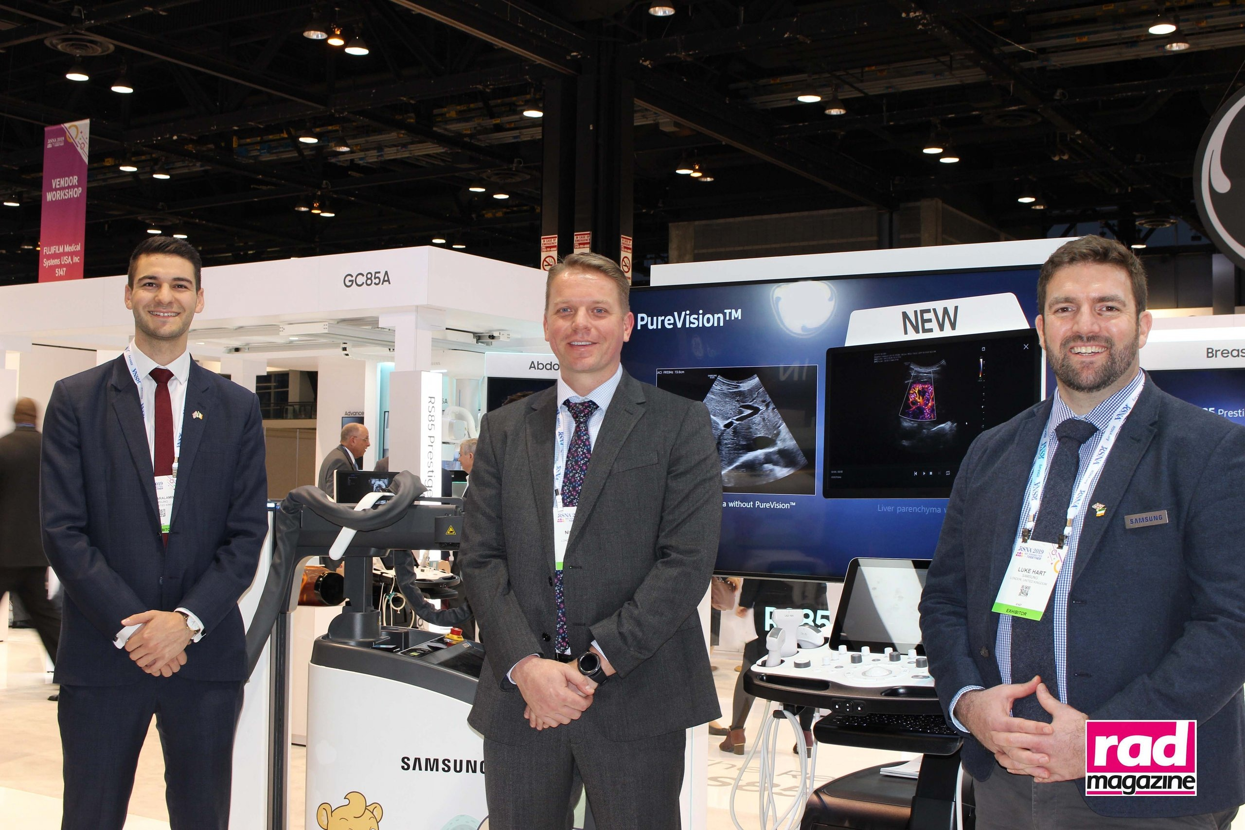 MIS Healthcare and Samsung at RSNA