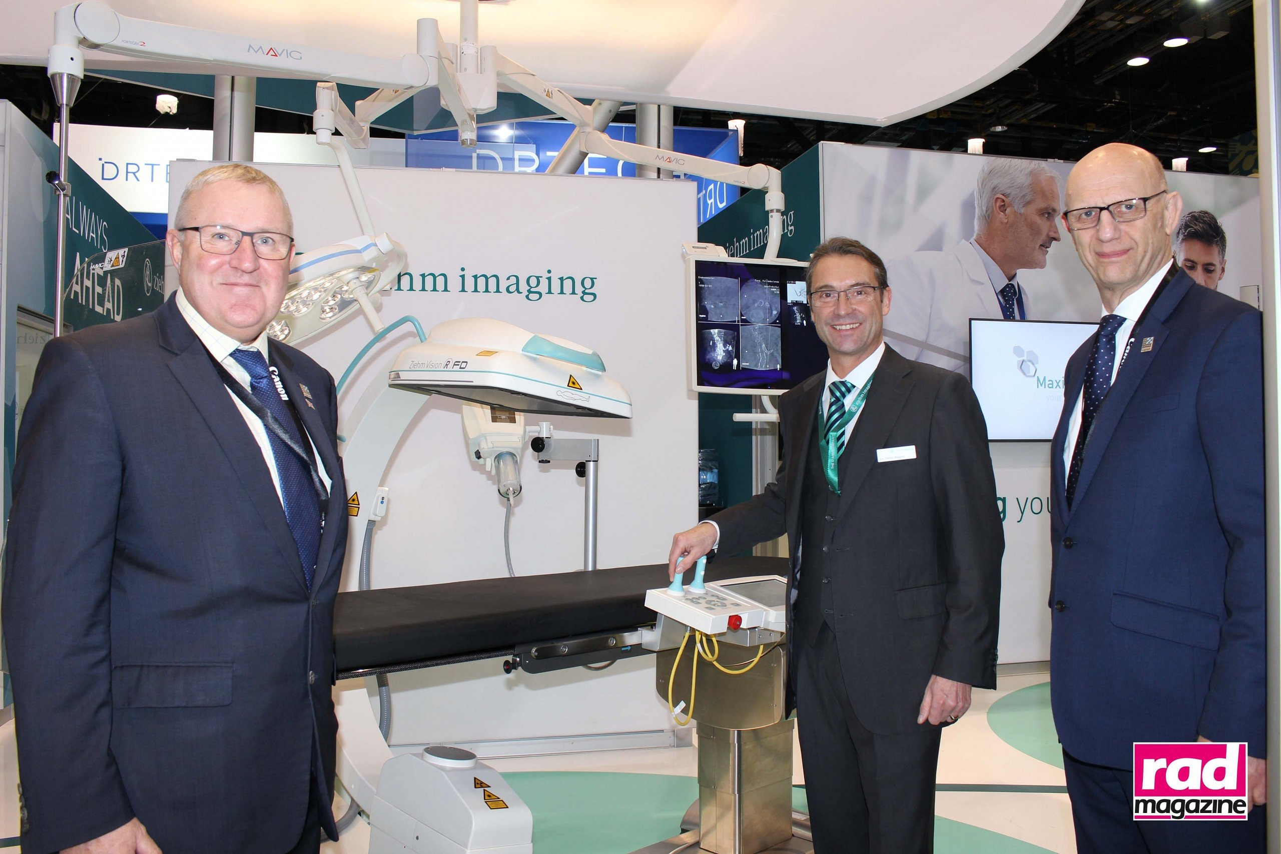 Xograph Healthcare and Ziehm Imaging at RSNA