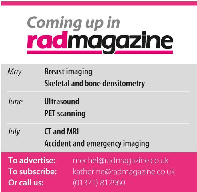 RAD Magazine Scientific articles